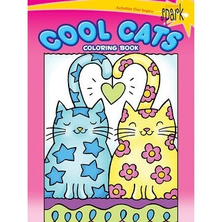 Dover Spark Publications-Spark Cool Cats