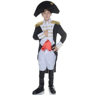 Underwraps Napoleon Child Costume - White/Black