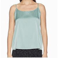 Eileen Fisher Green Women's Size XL V-Neck Tank Cami Silk Top