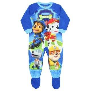 34df6d166 Shop Paw Patrol Toddler Boys Footed Pajamas Blanket Sleeper Mission  Pawsible - Free Shipping On Orders Over $45 - Overstock - 18909277