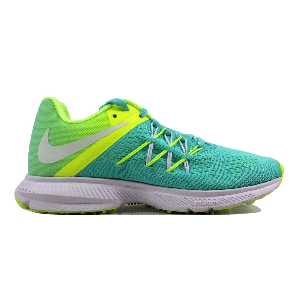 sports shoes d7010 bcd1d Nike Women's Zoom Winflo 3 Hyper Turquoise/White-Volt 831562-300