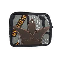 Unique Bargains 2 Zippered Compartment Nylon Bag Case for Mini Camera