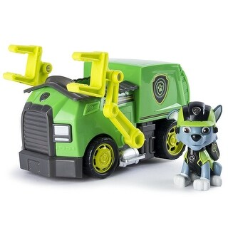 Paw Patrol Mission Paw Vehicle: Rocky's Recycling Truck - Multi