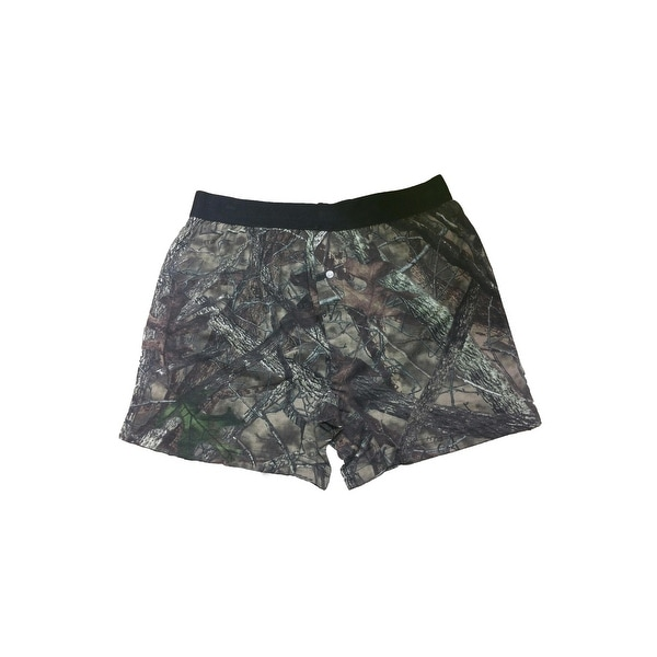 Camo Hunting Boxer Shorts Camouflage Authentic True Timber Underwear Briefs
