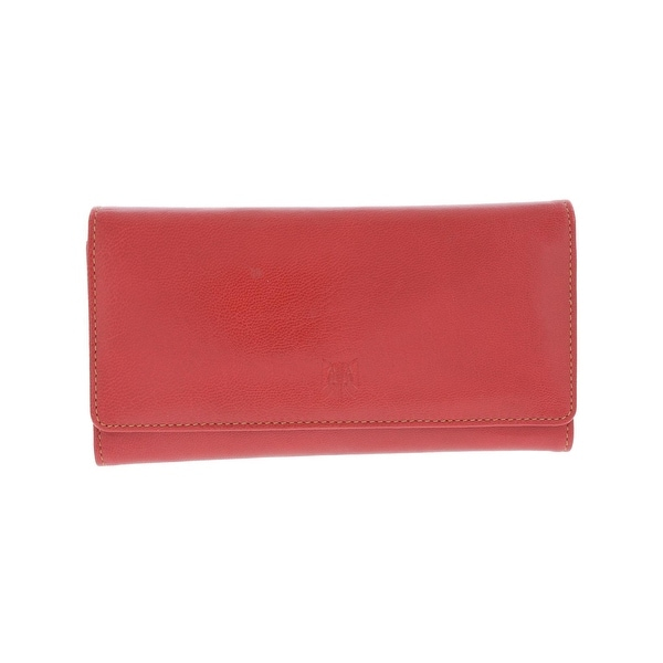 Tusk Womens Clutch Wallet Leather Signature - o/s