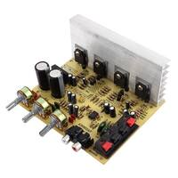 Unique Bargains 60W+60W 2 Channel Volume Control Knob Car Stereo Power Amplifier Board AD0602