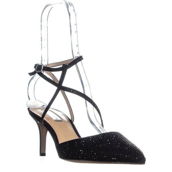 6abfe5e769 Shop I35 Lenii2 Strappy Rhinestone Evening Sandals, Black - Free ...