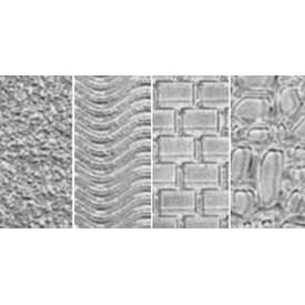 "Sand; Wave; Brick & Cobblestone - Makin's Clay Texture Sheets 7""X5.5"" 4/Pkg"