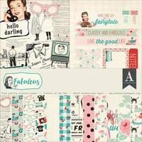 """Fabulous - Authentique Collection Kit 12""""X12"""""""