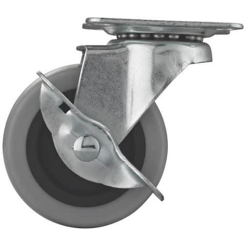 "Mintcraft JC-N05-G TPR Swivel Caster With Brake, 2"""