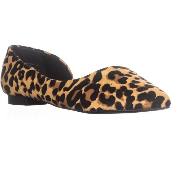 2ec4b753126 Shop Steve Madden Audriana-L Pointed Toe Ballet Flats, Leopard ...