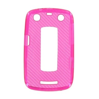 OEM Verizon High Gloss Silicone Case for BlackBerry Curve 9370 (Pink) (Bulk Pack