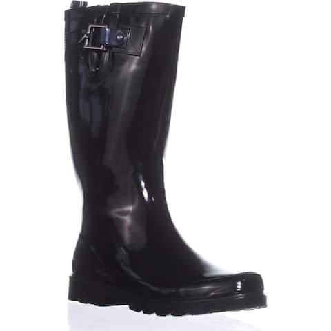 Nautica Womens Finburst Closed Toe Mid-Calf Cold Weather Boots