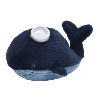 Lambs & Ivy Blue Ahoy Plush Whale - Skipper