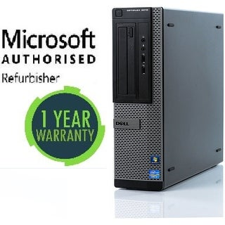 Refurbished Dell 3010 DT, intel i5 - 3.4GHz, 8GB, 500GB, W10 Pro, WiFi