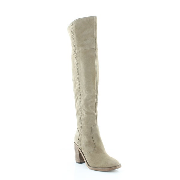 Vince Morra Women's Boots Khaki - 6.5