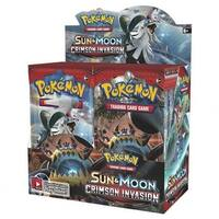 The Pokemon PKU81249 Sun & Moon 4 Crimson Invasion BD Card Games