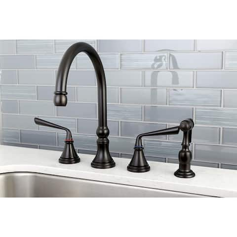 Silver Sage Widespread Kitchen Faucet