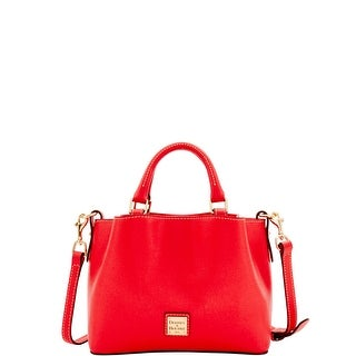 Dooney & Bourke Saffiano Mini Barlow (Introduced by Dooney & Bourke at $228 in Apr 2017) - Tomato