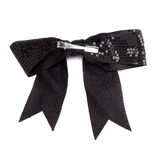 Stagedoor Sequins Hair Bow with Tails