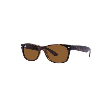 Ray Ban RB2132 New Wayfarer Classic 52mm Brown B-15 Lens Sunglasses