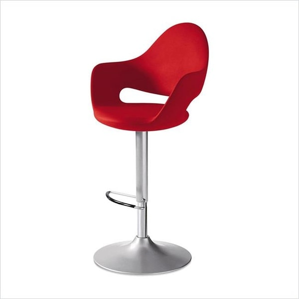 Domitalia Usa 7 6 Kb Adjule Swivel Bar Stool Red