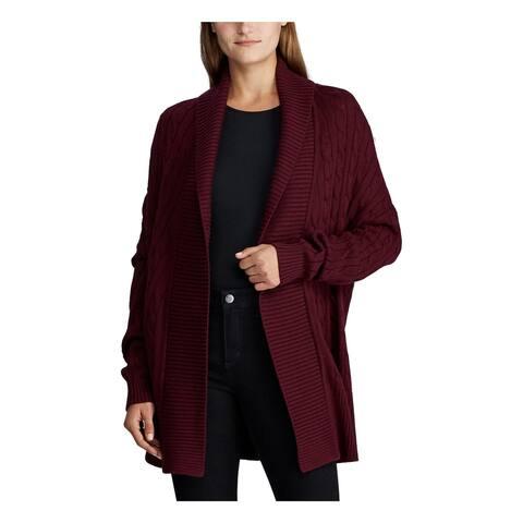 RALPH LAUREN Purple Long Sleeve Sweater L/XL