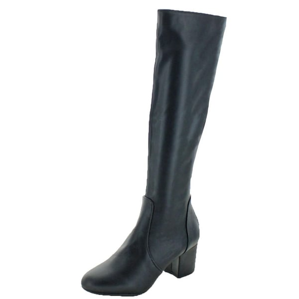 85af27a9e13 Shop Steve Madden Womens Hallie Knee-High Boots Padded Insole - Free ...