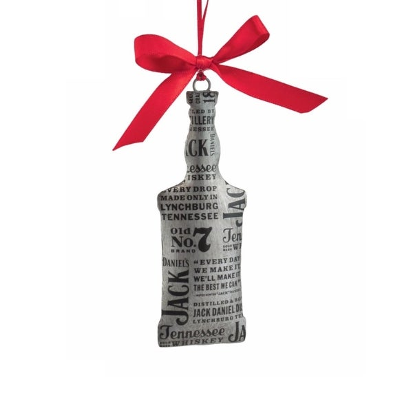 Department 56 Jack Daniel's Tin Bottle Hanging Christmas Ornament #4052189