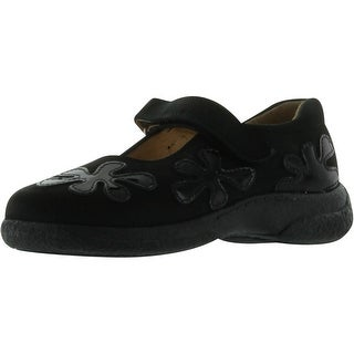 A&S Girls 6169 European Made Quality Shoes - Black