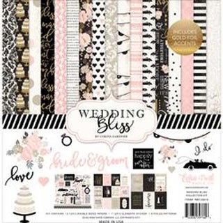 """Wedding Bliss - Echo Park Collection Kit 12""""X12"""""""