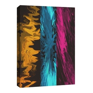 """PTM Images 9-126778  PTM Canvas Collection 8"""" x 10"""" - """"Vivid Splash II"""" Giclee Abstract Art Print on Canvas"""