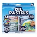 KIDS CRAFT Oil Pastel Soft Crayons, 24pk - Thumbnail 0