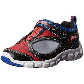 Stride Rite Boys Spidey Reflex Fashion Sneakers Leather Light Up