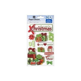 Link to Paper House Sticker 3D All I Want For Christmas Similar Items in Embellishments