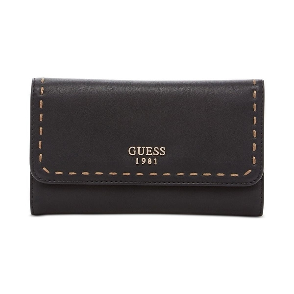 Shop Guess Womens Juliana Clutch Wallet Faux Leather Signature - o s - Free  Shipping On Orders Over  45 - Overstock.com - 18956089 cf5d522d13bd4