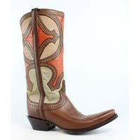Lucchese Womens M4860 Cowboy, Western Boots Size 10.5