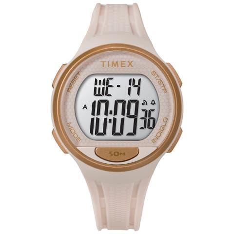 Timex Unisex DGTL Sport 40mm Watch - Pink Case with Pink Resin Strap