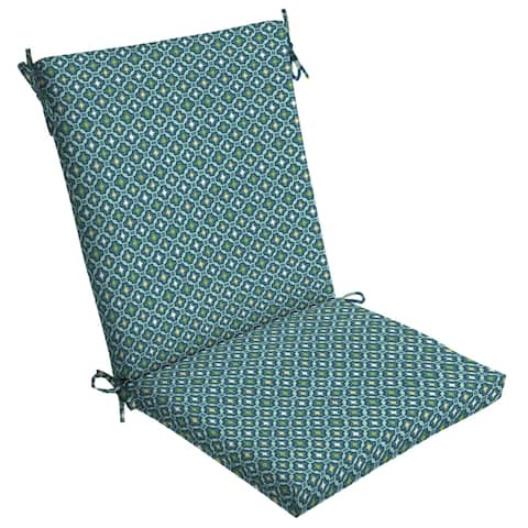 Arden Selections Alana Tile Outdoor Chair Cushion - 44 in L x 20 in W x 3.5 in H