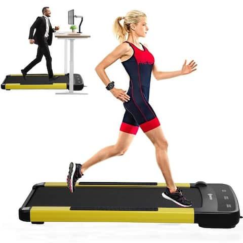 Zenova Walking Pad Treadmill With Wireless Electronic Remote Control