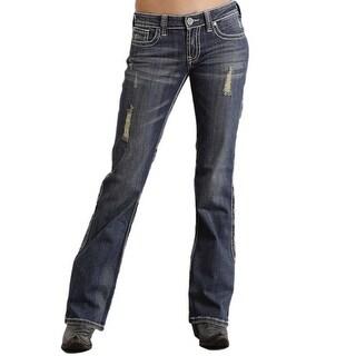 Stetson Western Denim Jeans Womens Bootcut 11-054-0816-1301 BU