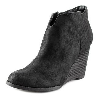 Carlos by Carlos Santana Camira Women Round Toe Synthetic Ankle Boot