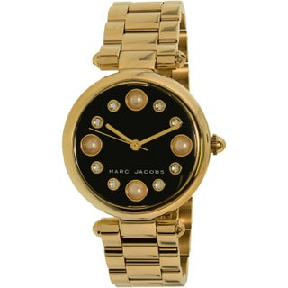 Marc Jacobs Women's Dotty MJ3486 Gold Stainless-Steel Quartz Fashion Watch