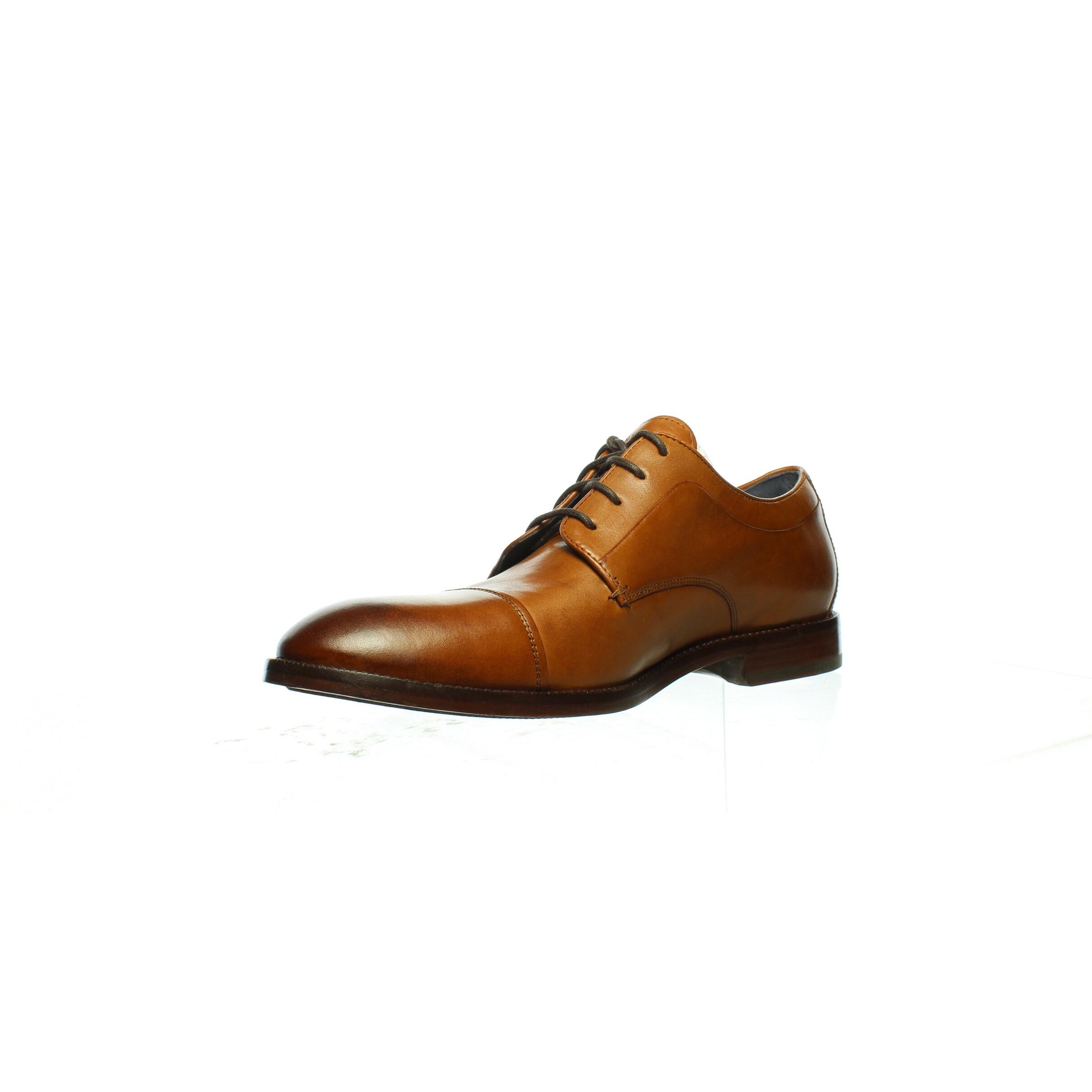 E BHFO 8121 Cole Haan Mens Harrison Grand 2.0 Brown Dress Oxfords Shoes 9 Wide