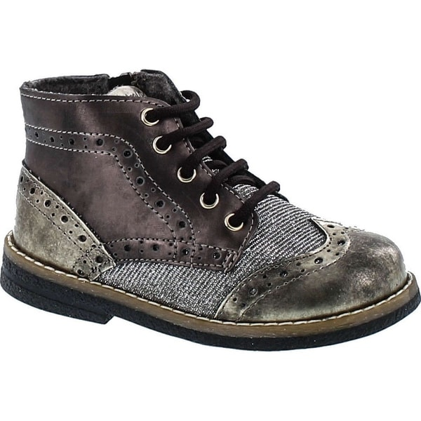 Primigi Girls Ariosto Wing Tip Oxford Lace Up Boots