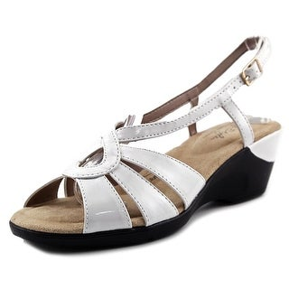 Soft Style by Hush Puppies Paci   Open Toe Synthetic  Wedge Sandal