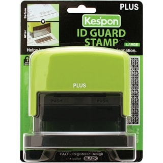 Plus Guard Your Id Large Stamp, Green