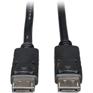 Tripp Lite P580-100 Tripp Lite DisplayPort Cable with Latches - (M/M) 100-ft.