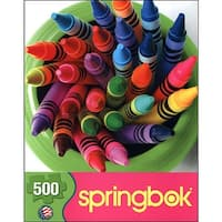 Twist of Color 500 Piece Puzzle, Women's Interests by Springbok