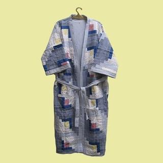 Bath Robe Sail Style Cotton Medium 50 x 60